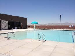 beautiful swimming pool mushroom fountain at ymca el mirage az