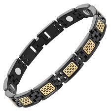 ladies magnetic bracelet images Ladies honey comb titanium magnetic bracelet willis judd jpg