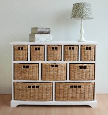 tetbury storage unit large chest of drawers storage baskets
