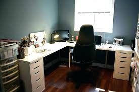 decoration Computer Desk U Shaped Bush Corner With Optional Hutch L