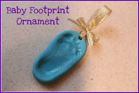 baby footprint keepsake sculpey polymer clay work it in your