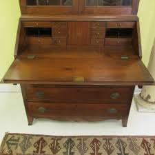 Chippendale Secretary Desk by C American Chippendale Desk And Bookcase Sold