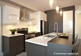 cuisine moderne armoire de cuisine moderne contemporaine mélamine