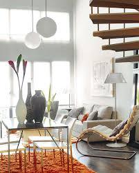 Loft Interior Design by Minimalist Living Room In Small Loft Interior Design
