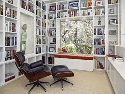 modern home library interior design modern home libraries and bookshelf