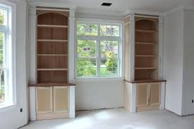 built in bookcase billy fireplace bookcases around