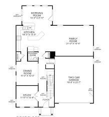 Model Home Floor Plans A Victoria Falls In Palmer Village Floor Plans Ryan Homes Floor