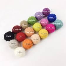 aliexpress com buy pinjeas felt ball u0026wood beads garland decor