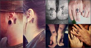 21 creative couple tattoos to express their undying love
