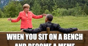 Bench Meme - that awkward moment you sit down on a bench and become a meme