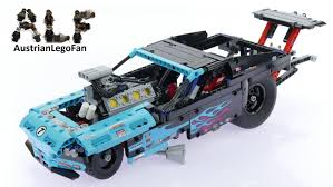 lego technic car lego technic 42050 drag racer lego speed build review youtube