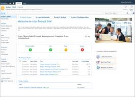 free sharepoint 2010 project management template now available on
