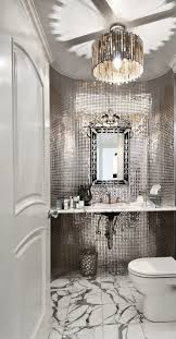 marble bathroom floor tiles with silver mosaic walls marble