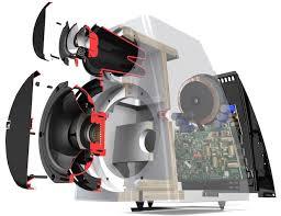Bookshelf Speaker Design Meridian Dsp3200 Digital Active Bookshelf Speakers Ecoustics Com