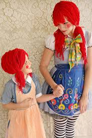 Raggedy Ann Andy Halloween Costumes Adults Rag Doll Halloween Costume Diy Halloween Halloween