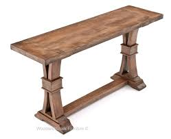 Wood Sofa Table Modern Tuscan Sofa Table Rustic Table Antique