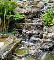 Backyard Water Falls by 62 Best Waterfall Ideas Images On Pinterest Backyard Waterfalls