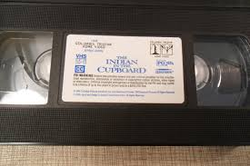 15 the indian in the cupboard vhs the indian in the cupboard with