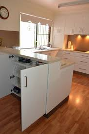 double sided kitchen cabinets u shape kitchen double sided cabinets for extra storage remodel
