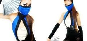 Skarlet Mortal Kombat Halloween Costume Fierce Kitana Mortal Kombat Costume