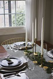 dining room table setting for christmas 37 christmas table decorations place settings holiday tablescapes