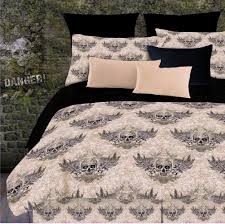 skull bedding for boys or girls twin full queen king comforter