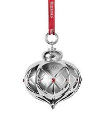 waterford 2017 silver annual snowflake ornament 2017