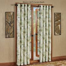 White Curtains With Green Leaves by Blackout Curtains And Thermal Curtain Panels Touch Of Class