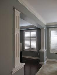 interior columns for homes interior decorative support columns posts pillars mdf plaster