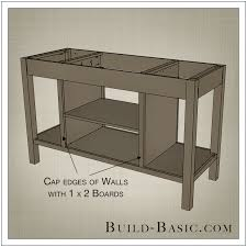 open kitchen island build a diy open shelf kitchen island build basic