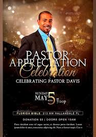 pastor appreciation flyer templates graphicmuleanniversary flyer