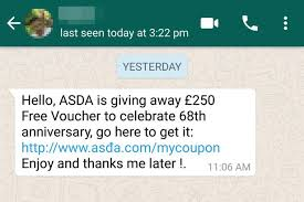 don u0027t get caught out by the dangerous new asda scam doing the