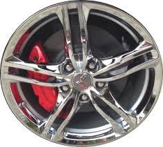 chrome corvette wheels aly5732 chevrolet corvette wheel chrome 22959759