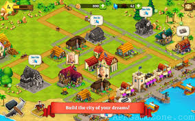 city apk town farm build trade harvest city coins gems mod