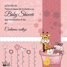 Invitacion Baby Shower Para Modificar
