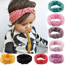 baby headwraps baby girl headbands kids cotton hair braided wrap infant