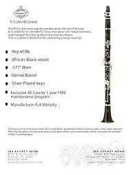 Buffet R13 A Clarinet by All County Music Instrument Rentals Store U2013 Buffet R13 Silver Bb