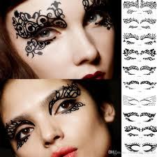 fashion eyeliner makeup artistic creativity eye stickers decorate