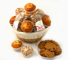 Cookie Basket Delivery Muffin Cookie And Brownie Gift Basket Muffin Gifts Muffins And