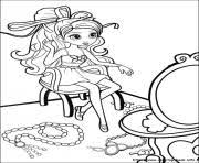 barbie mariposa 05 coloring pages printable