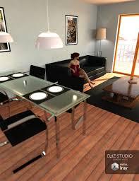 Livingroom Interiors Living Room Interior 3d Models And 3d Software By Daz 3d