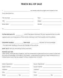 bill of sale template