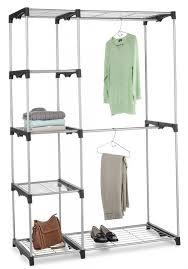 bedroom furniture sets narrow closet organizer hanging rod 3