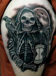 the grim reaper tattoo creativefan