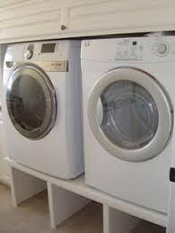 Pedestal Washing Machine How To Build A Washer And Dryer Pedestal Laundry Rooms Laundry