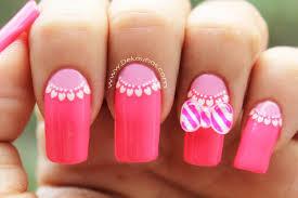 decoración de uñas moño 3d 3d bow nail art youtube