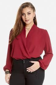 Plus Size Bodysuit Blouse Plus Size Biltmore Bodysuit Fashion To Figure