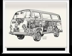 Camper Van Blinds Blinds Of White Camper Van By Haynes Manuals 1600mm X 1200mm