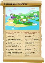 45 free esl geography worksheets