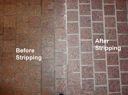 cleaning vs stripping written in stone